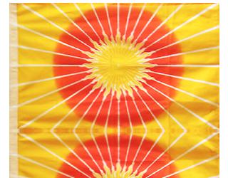 Vlag van de Global Country of World Peace 100 x 150 cm
