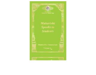 Maharishi Speaks to Students, Engels
