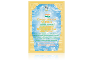 Constitution of India, Engels