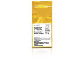 Cardamom, gemalen (biologisch)