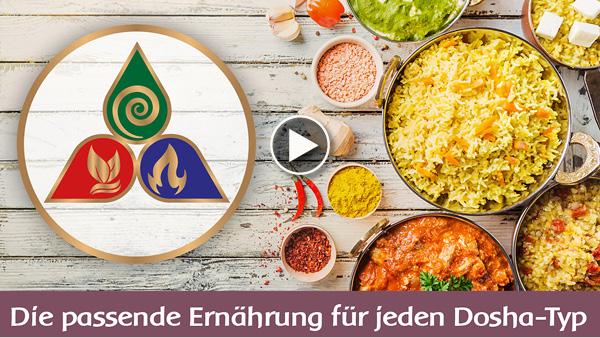 YouTube - De passende voeding voor ieder dosha-type