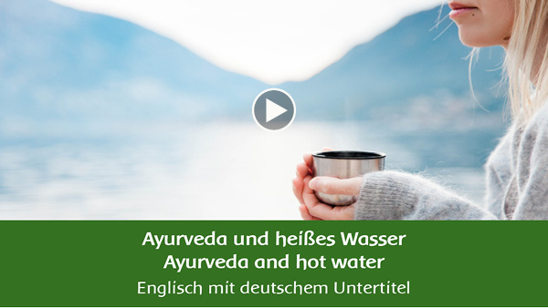 YouTube - Ayurveda en warm water