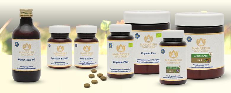 Ayurvedische voedingssupplementen