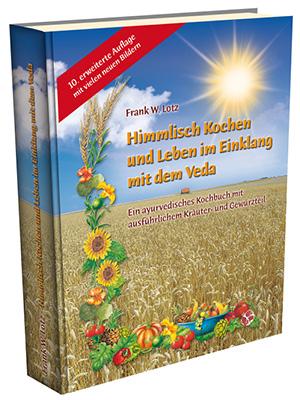 """Kookboek """"Himmlisch Kochen und Leben im Einklang mit dem Veda"""""""