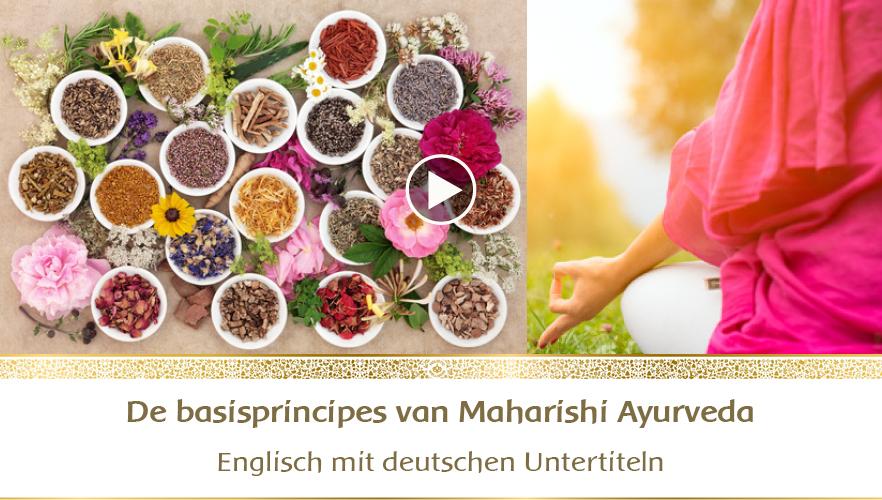 YouTube Webinar: De basisprincipes van Maharishi Ayurveda