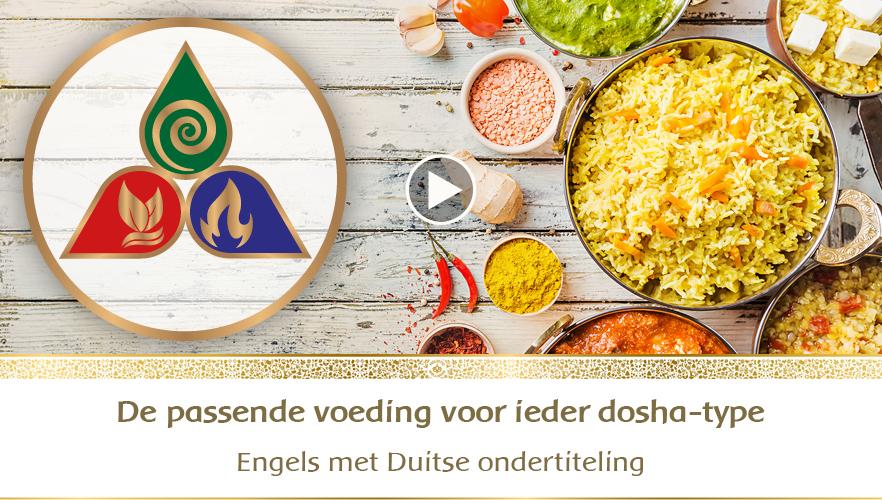 YouTube Webinar: De passende voeding voor ieder dosha-type