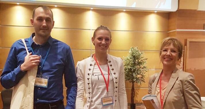 Winnares met partner en Frau Buchzik