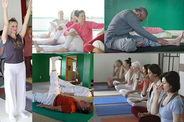 Yoga cursus - oefeningen