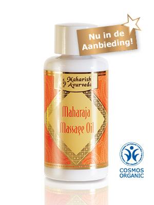 Maharaja - Massage olie voor mannen