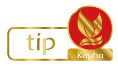 Tips voor Kapha-types