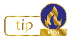 Tips voor Pitta-types